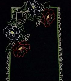 This Pin was discovered by sih Table Runners, Embroidery Patterns, Diy And Crafts, Projects To Try, Cross Stitch, Quilts, Wallpaper, Creative, Painting