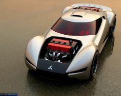 ❦ Twin Engine Mitsubishi Double Shotz Concept