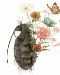 Em Um Mundo Perfeito Uma Bomba Explodiu E Ao Inves Da Morte O Que Seu