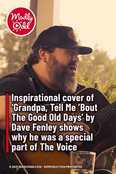 Season 15 of The Voice had a lot of emotional moments. But seeing the artist that Dave Fenley has become makes me feel a little bit better about the outcome. #Music #Singing #Grandpa #Davefenley