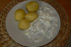 Rezept: Sahnehering mit Pellkartoffel
