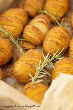 moje pasje: Pieczone ziemniaki hasselback