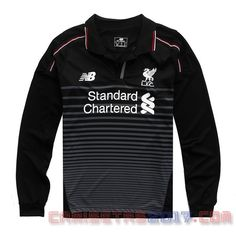Camiseta manga larga Liverpool 2015 2016 tercera