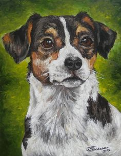 Pet Portrait  Custom Painting in Acrylics or by GiftsbySuzanne, $125.00