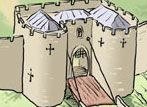 Interactive Kid's Castle where you can learn about the different parts of a castle!