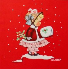 Eva harta ars sacra xmas greeting card girl making popcorn art eva eva harta ars sacra xmas greeting card girl making popcorn art eva harta pinterest xmas greeting cards xmas greetings and xmas m4hsunfo