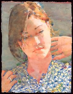 Ted Nuttall ~ Figurative Watercolour painter | Tutt'Art@ | Pittura * Scultura * Poesia * Musica |