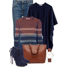 Casual by ebramos on Polyvore featuring мода, T By Alexander Wang, Schutz and Daniel Wellington