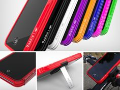 The Aeris Rail+ is the first polymer iPhone case that is completely customizable. It is actually a modular case that serves as the main part to which you can attach many other Aeris accessories.