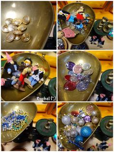 """Pirates: Weighing the treasure - from Rachel ("""",)"""