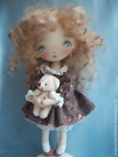 Коллекционные куклы ручной работы. Ярмарка Мастеров - ручная работа Кукла малышка Ася. Handmade.