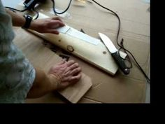 Knife Sheath - Made from pvc pipe