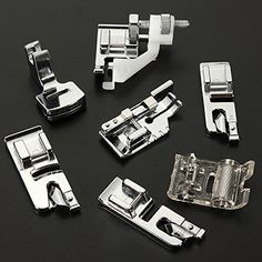 $17.68!! I just ordered this MECO(TM) 32pcs Domestic Sewing Machine Presser Foot Set For Janome Brother Singer NewHome CoolLife  This is a 32 piece set. Only a few are shown in the photo.