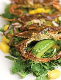 grilled soft shell crabs | 4th of July favorite