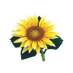Andrea by Sadek Large Sunflower Porcelain Flower Figurine