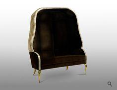 DRAPESSE Sofa Detail by KOKET