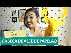DIY - Cabeça de alce com papel paraná, GavetaMix, My Crafts and DIY Projects