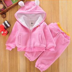 Cheap boys clothes, Buy Quality girls clothing sets directly from China clothing sets Suppliers: New children Kids Boys Girls Clothing Set 2017 Autumn Winter 2 Piece Sets Hooded Coat Suits Fall Cotton Baby Boys Clothes Baby Outfits, Fall Outfits 2018, Newborn Outfits, Teddy Bear Clothes, Cute Baby Clothes, Kids Christmas Outfits, Baby Dress Design, Baby Girl Winter, Baby Coat