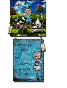 Silver Lining, Alice, Christmas Ornaments, Holiday Decor, Art, Art Background, Christmas Ornament, Kunst, Gcse Art