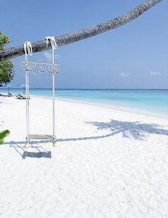 Utility Pole, Beach, Summer, Maldives, Summer Time, The Beach, Beaches