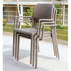 Bora Chair Arm - Taupe - Nardi