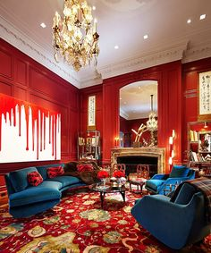 Kips Bay Decorator Show House_New York - William Georgis's Study