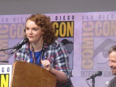 Crystal Pyramid Crew‏ Guess who surprised the Stranger Things panel at - Shannon Purser Photo by Shannon Purser, Longing For You, San Diego Comic Con, Sci Fi Movies, Stranger Things, Crystal, Freaky Things, Sci Fi Channel Movies, Crystals