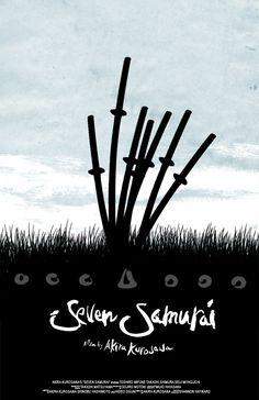seven samurai poster - Buscar con Google