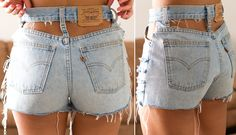 DIY high waisted flag shorts   anyway pair #2 these ones require a sewing machine. there are tons of ...