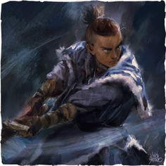 Avatar: The Last AirBender - Fanart, Vince Serrano