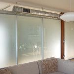 Sliding Glass Loft Dividers