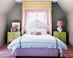 orange and lavendar bedroom   orange and lavendar bedroom   Purple, green, pink, teen girls bedroom ...