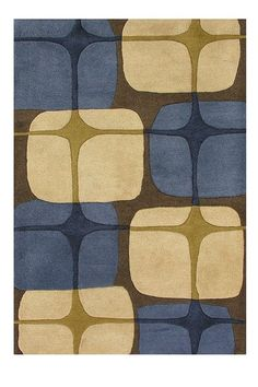 Horizon Rugs. These broad shapes if monochrome are not unlike our new headboards. Coming soon. http://octaspring.com