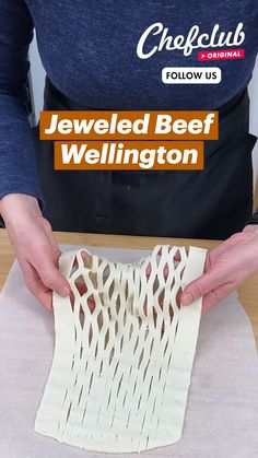 Fun Baking Recipes, Meat Recipes, Dinner Recipes, Cooking Recipes, Cute Food, Yummy Food, Tasty, Wellington Food, Beef Dishes
