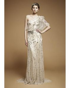 Jenny Packham- Her gowns are unlike any other out there and I swoon for her beadwork.