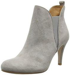 Belmondo 703335 05, Damen Kurzschaft Stiefel, Grau (grigio), 37 EU - http://besteckkaufen.com/belmondo/37-eu-belmondo-703335-05-damen-kurzschaft-stiefel