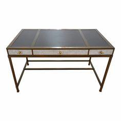 Contemporary Lacquer Company Gambrel Desk For Sale Vintage Writing Desk, Unique Desks, Gambrel, Ping Pong Table, Contemporary, Furniture, Design, Home Decor, House