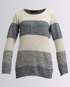 Get comfy this winter in theCath.Nic Striped Country Jersey byQueenspark. This oversized knithas wear-everywhere versatility. It is ideal for wearing outdoors and even when you want to curl up with a book in front of the fire. Wear it with your favourite denim jeans and comfy Ugg boots for a casual look.