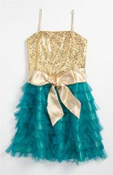 Un Deux Trois Ruffle Party Dress (Big Girls)