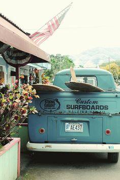 Session surf #plage #surf #planches #van #ete #beach #ocean #vans #summer