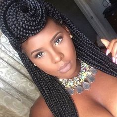 Box braids are one of the best long term, protective styles out. It combines low manipulation with a very classic look that can easily be worn every day and onspecial occasions. Whether you'…