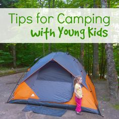 Tips for Camping with Young Kids #camping #familycamping #campingwithkids #ebayguides @ebay
