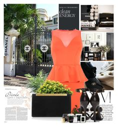 """""""#2"""" by oneandonlyfashion ❤ liked on Polyvore featuring AX Paris, Versace, Yves Saint Laurent and Könitz"""