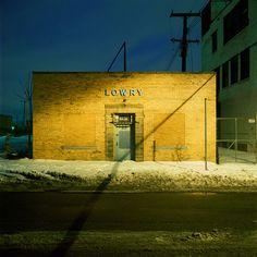 Detroit  Winter by Kevin Bauman, via Behance
