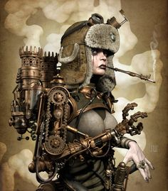 Women of steampunk & fantasy