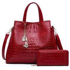 Fashion Crocodile Pattern Shoulder Bag New Women Bags Ladies Handbags Tote Bag Women Handbags Purses And Handbags Sac Femme Tote Handbags, Purses And Handbags, Leather Handbags, Ladies Handbags, Coin Purses, Handbags Online, Leather Bags, Burberry Handbags, Chanel Handbags