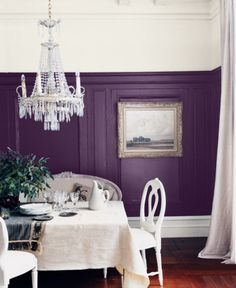 """Is there an ideal distance between a dining table and a chandelier? Yes! At least 33"""""""
