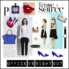 Office vs Night out Blue Suede, Stilettos, Stella Mccartney, Polyvore Fashion, Fendi, Night Out, Yves Saint Laurent, Boards, Chanel
