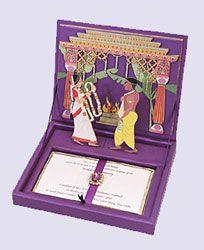 Pop Up Card! Marriage Invitation Cards, Marriage Invitation Cards New Delhi, India : Ravish Kapoor