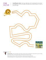 Mazes - Printable Sheets - practice fine motor skills and pencil control that help w/ alphabet and number writing